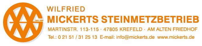 Steinmetzbetrieb Wilfried Mickerts GmbH